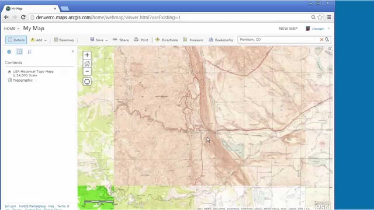 Accessing And Using Historical USGS Topographic Maps In ArcGIS - Usgs topographic maps online
