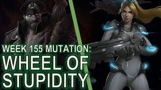 Starcraft II: Co-Op Mutation #155 - Wheel of Misfortune [Brute Force]