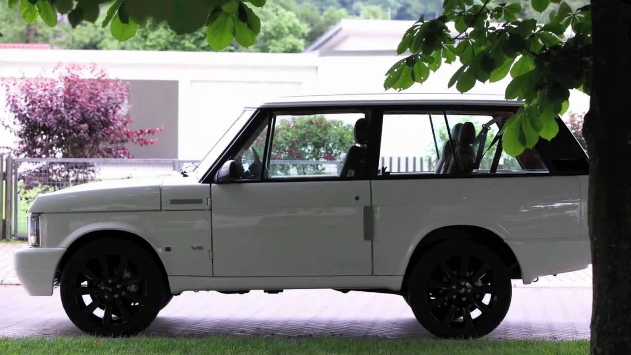 U0026quot Sally U0026quot  The Range Rover Classic 40 Th Anniversary
