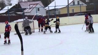 Хоккей. Хвастовичи - Ферзиково. Все голы