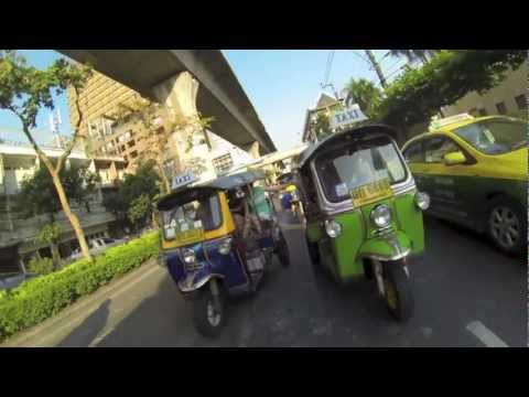 Reality TV Behind the Scene in Bangkok: Tuk Tuk