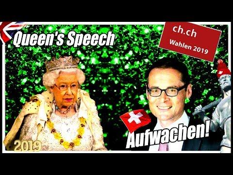 Queen's Speech & BREXIT   Geht wählen!   Roger Köppel & EU Rahmenvertrag