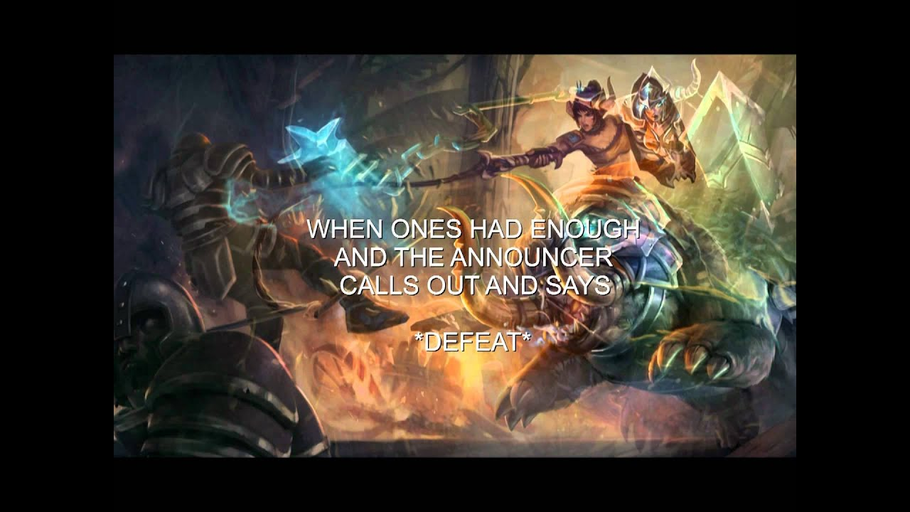 ASHE Vs SEJUANI (League Of Legends Song)[HD] - YouTube