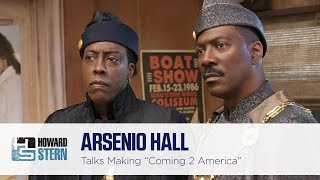 "Arsenio Hall on How Tracy Morgan Almost Played Eddie Murphy's Son in ""Coming 2 America"""