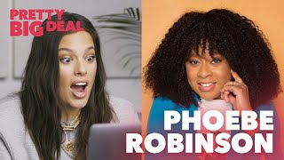 Phoebe Robinson on Texting Michelle Obama | Pretty Big Deal with Ashley Graham