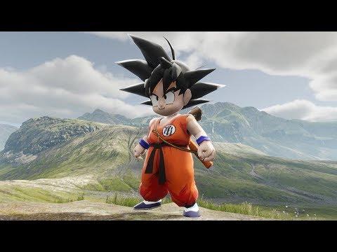 Dragon Ball Unreal Engine 4 KID GOKU IS AMAZING!