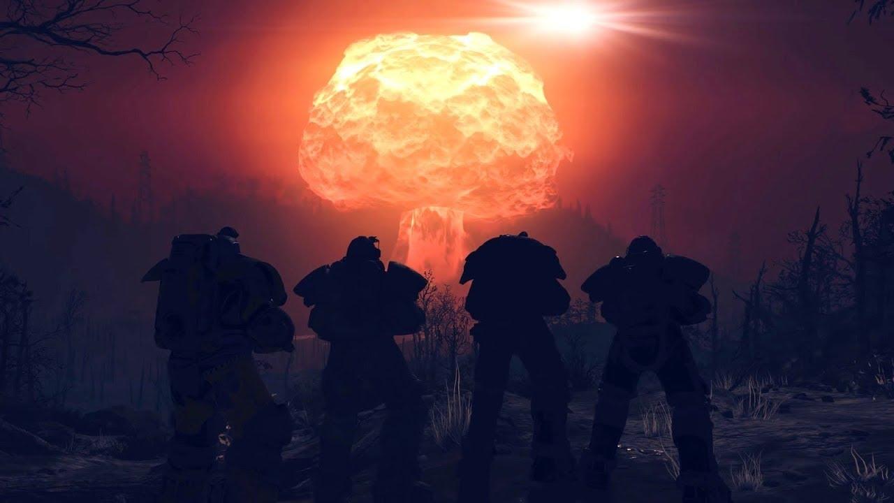 FALLOUT 76 Nuke Detonation