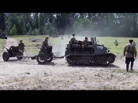 """Т-20. Военный Фестиваль """"Поле Боя"""" 2014"""