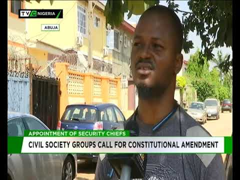 Civil Society Group calls for constitutional amendment over appointment of service chiefs