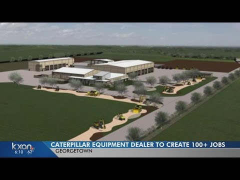 129 jobs coming as Georgetown gets Holt Cat facility