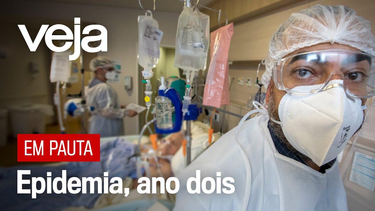 Covid-19, um ano do primeiro diagnóstico no Brasil