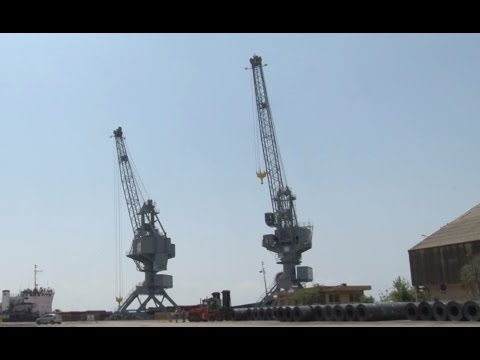 Cosmatos Group Shore Cranes Thessaloniki Port
