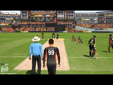 Ashes Cricket 2013 Gameplay and Commentary