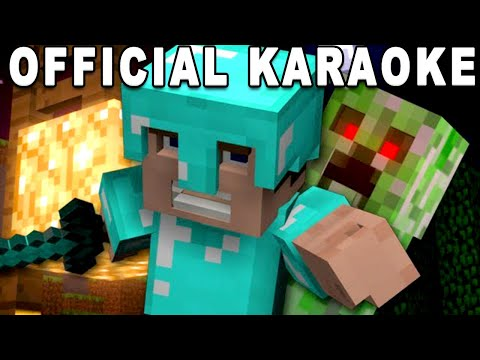 Revenge Minecraft Song OFFICIAL KARAOKE INSTRUMENTAL + LYRICS