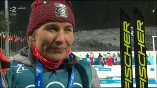 Zimné olympijské hry Anastasia Kuzminova rozhovor