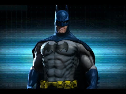 Batman: Arkham Origins - Long Halloween Suit - YouTube
