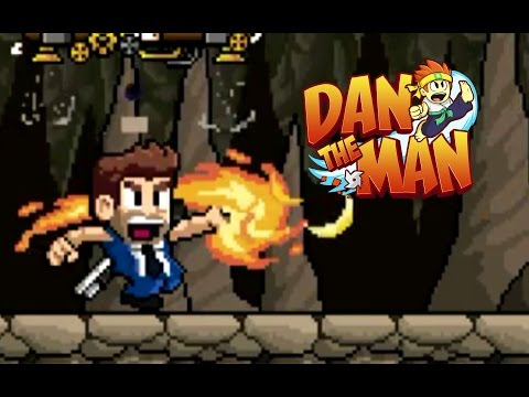 Dan The Man - Final Sub Levels B9 - B12 With Barry Steakfries [60Fps] (Android)