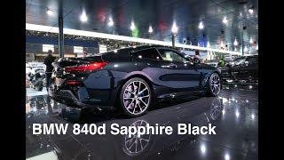 BMW 840d in Sapphire Black