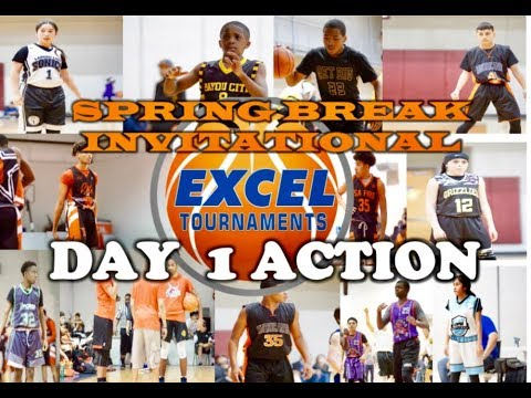 EXCEL SPRING BREAK INVITATIONAL 2019 - Day One Action
