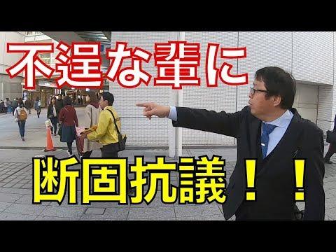 2019/3/17 共産党抗議街宣 相模大野(ちょっとだけ本村賢太郎にも抗議)