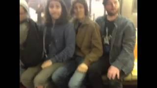 треш в метро