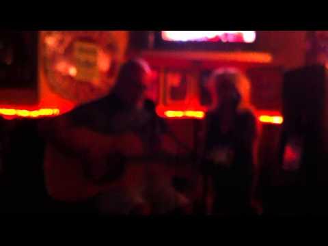 New married couple singing in santa barbera