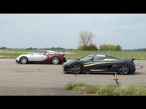 bugatti veyron 16.4 vs koenigsegg agera s hundra x 5 races gtboard