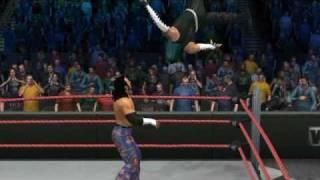 wwe smackdown vs raw 2011 jeff hardy awsom caw highlights 2