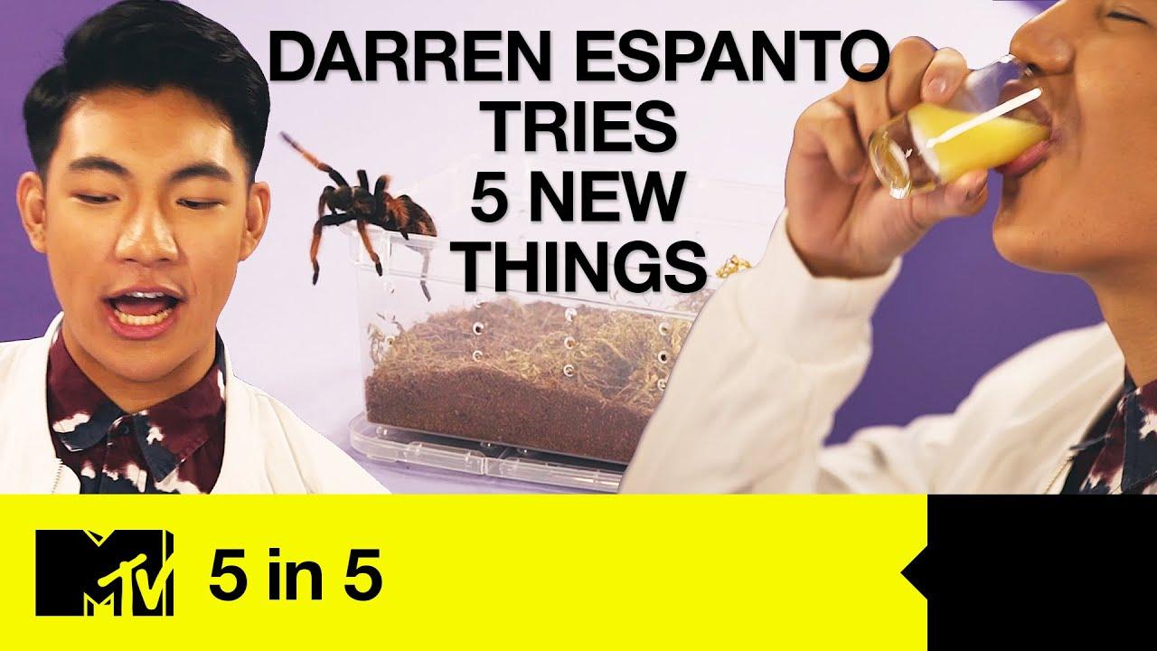 Darren Espanto Tries 5 New Things: Chugging, Tarantula Touching & Abstract Art [EN/PH SUBS]   5