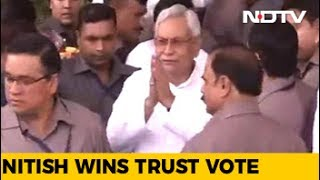 Nitish Kumar Wins Trust Vote In Bihar Assembly thumbnail