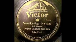 Sensation Rag - Original Dixieland Jazz Band 78 rpm!