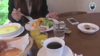 Что подают на завтрак в недорогом отеле в Японии (онсен)