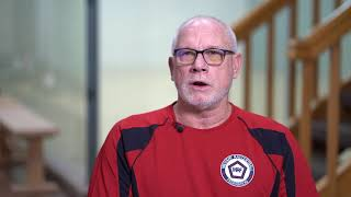 Racquetball training for veterans 10 of 12 - interview with Chip