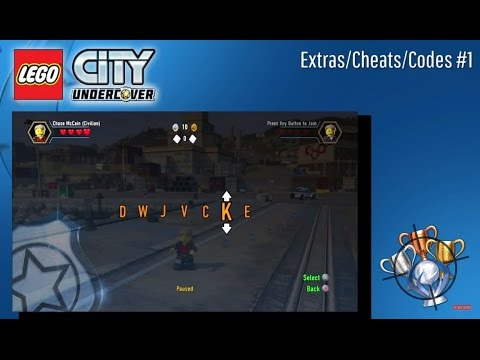 Lego City Undercover Codes Extras Cheats 1 Ps4 Youtube