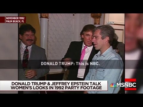 1992 Tape Shows Trump With Epstein | The View