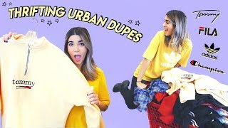 THRIFTING URBAN OUTFITTERS DUPES ☆