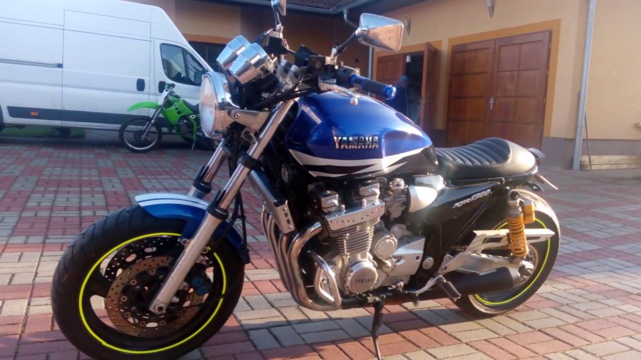 Yamaha Xjr 1300 Cafe Racer Youtube