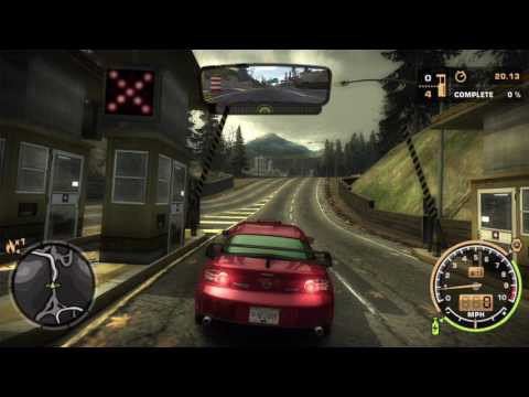 Need for Speed Most Wanted Tollbooth Waterfront & Bristol on AI mode
