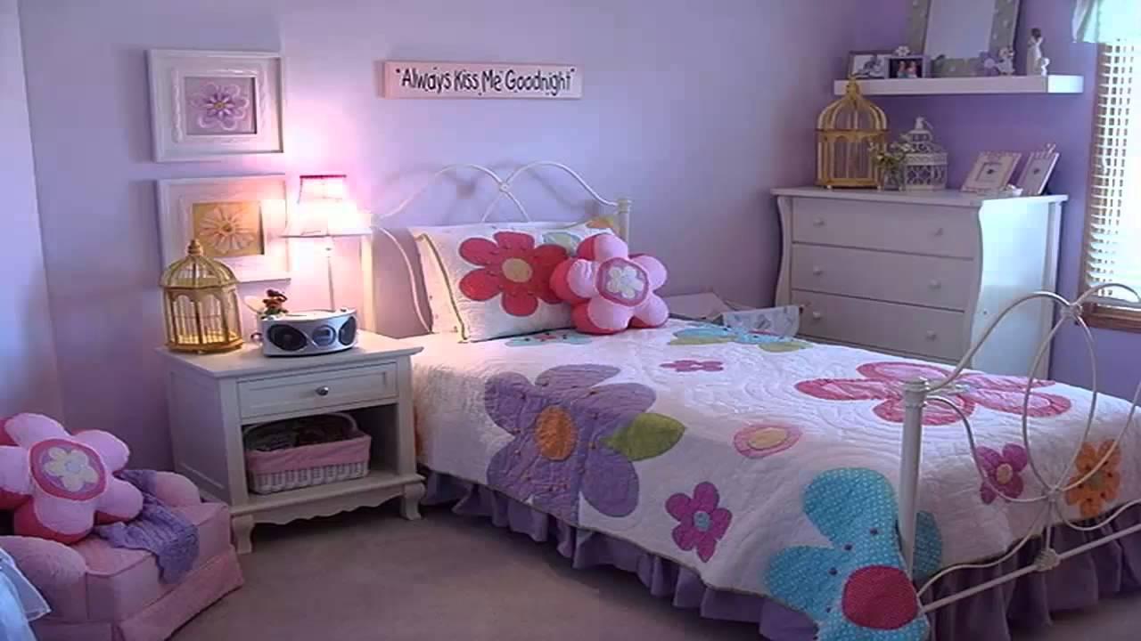 غرف نوم اطفال باللون الموف       YouTube