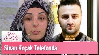 Burcu'nun eşi Sinan Koçak telefonda - Esra Erol'da 1 Nisan 2019