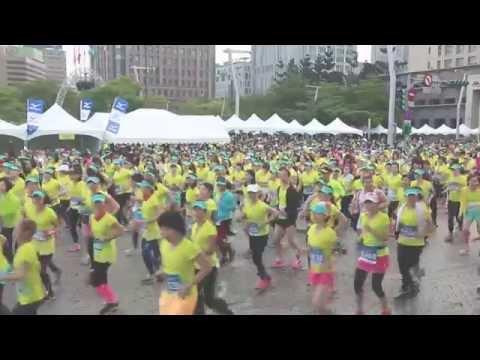 2015 Mizuno Lady's Running  綻放花絮