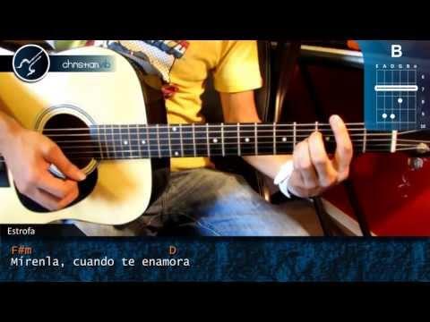 Cómo tocar Mirenla de Ciro Y Los Persas en Guitarra Acústica HD Acordes  Christianvib