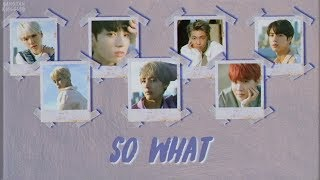 [RUS SUB] BTS - So What (НАКОНЕЦ-ТО!)