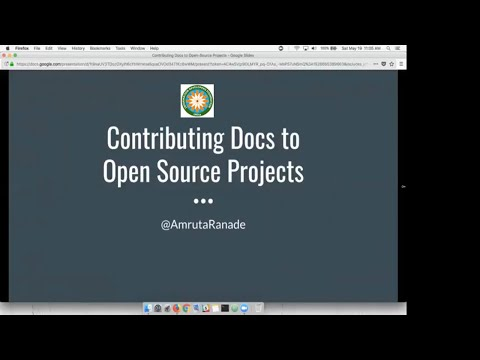 Git and Open Source Documentation
