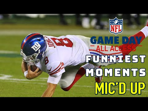 "Funniest Moments of 2020 Mic'd Up! ""That was the worst griddy I've ever seen"" 