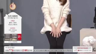 [홈앤쇼핑] [엘리스까노] 천연양털 라이딩 미들 부츠