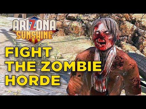 Arizona Sunshine - VR Zombie Shooting Fun In The Sun Gameplay   Oculus Touch Gameplay