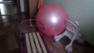 Детские санки Vitan рекомендую  распаковка видео обзор