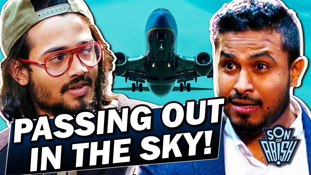 Bhuvan Bam jumped off a plane