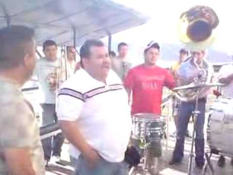 El Coyote Y Su Banda Tierra Santa-Pagando Una Manda Ala Virgen En El Cerro DE CD.Obregon,Son.